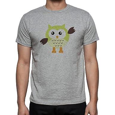 Owl Bird Night Midnighter Brown Wings XXL Herren T-Shirt