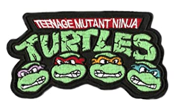 Teenage Mutant Ninja Turtles Iron-on Patch (3.5