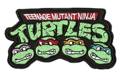 Amazoncom Teenage Mutant Ninja Turtles Iron On Patch 35 9cm