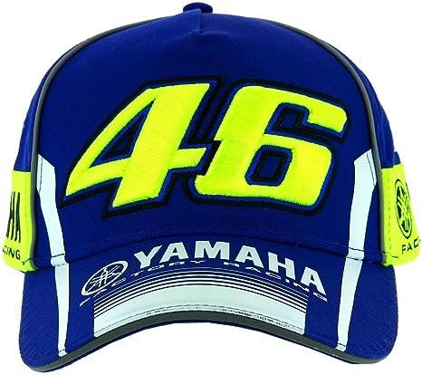 Gorra Valentino Rossi VR46 Moto GP M1 Yamaha Racing Team Azul ...