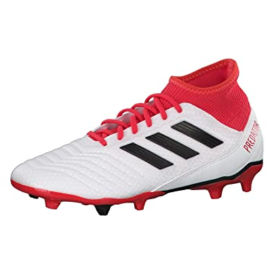adidas Men's Predator 18.3 Fg White Football Boots - 10 UK/India (44 2