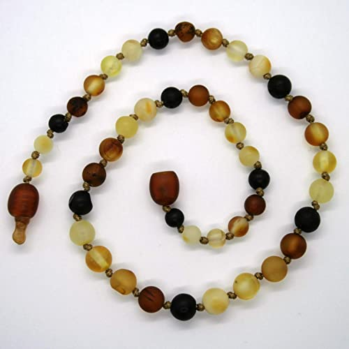 Children and Adult Sizes Anklets Bracelets and Belly Necklaces Screw or Safety Clasp Milky Yellow Raw Unpolished Baltic Amber Teething Necklaces