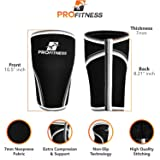 ProFitness 7MM Knee Sleeve (Pair) - Squat Knee