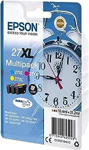 Epson C13T27154022 - Cartucho de tinta, multi-pack XL, tricolor (amarillo, magenta, cian): Epson: Amazon.es: Electrónica