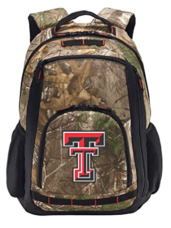 3db5560965c1 Image Unavailable. Image not available for. Color  Broad Bay Texas Tech  Camo Backpack ...