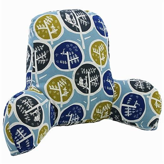 Amazon.com: Cintura Cojín oficina asiento almohada lino y ...