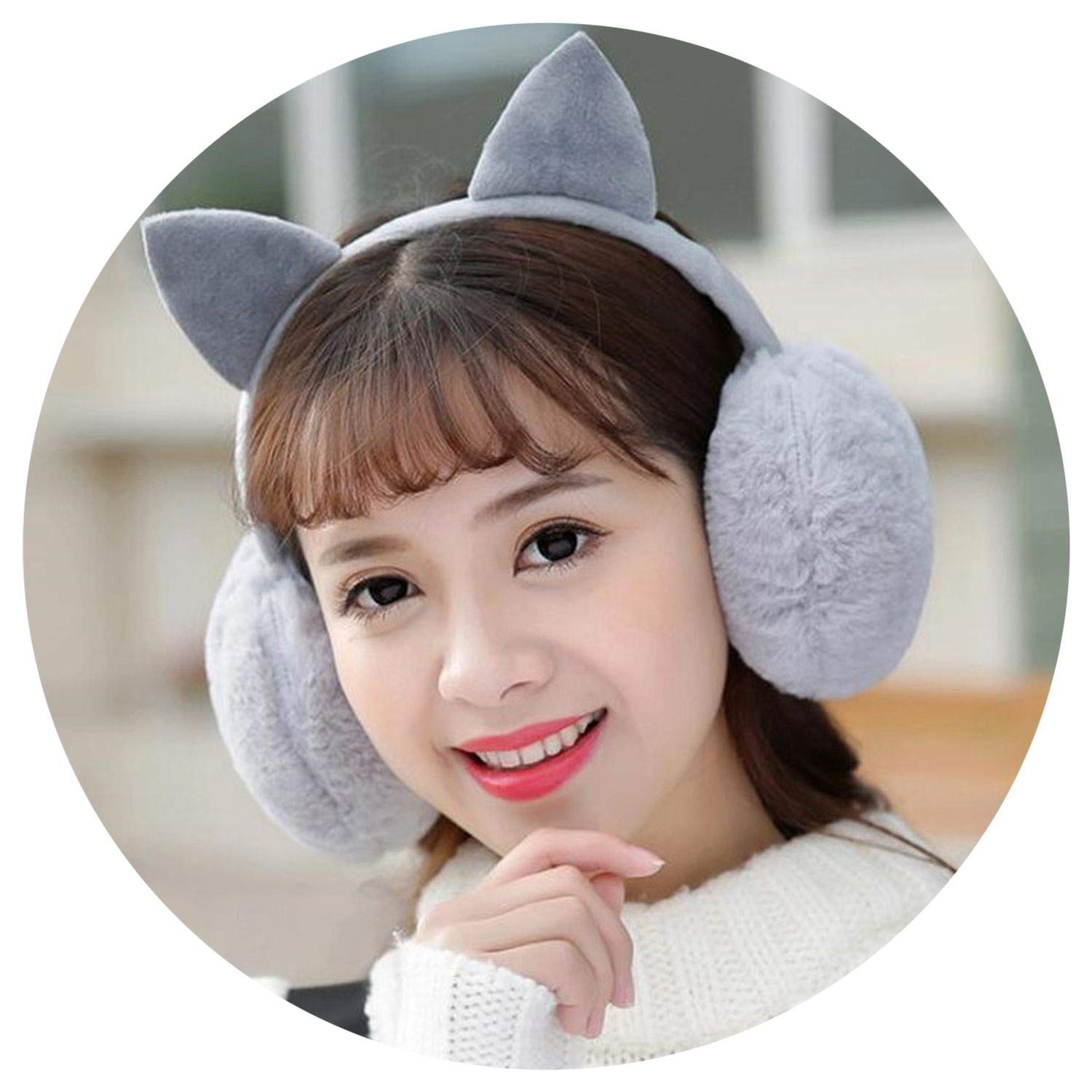 muffs Ultralarge Imitation t Earflap ies Plush Ear Muff Earlap