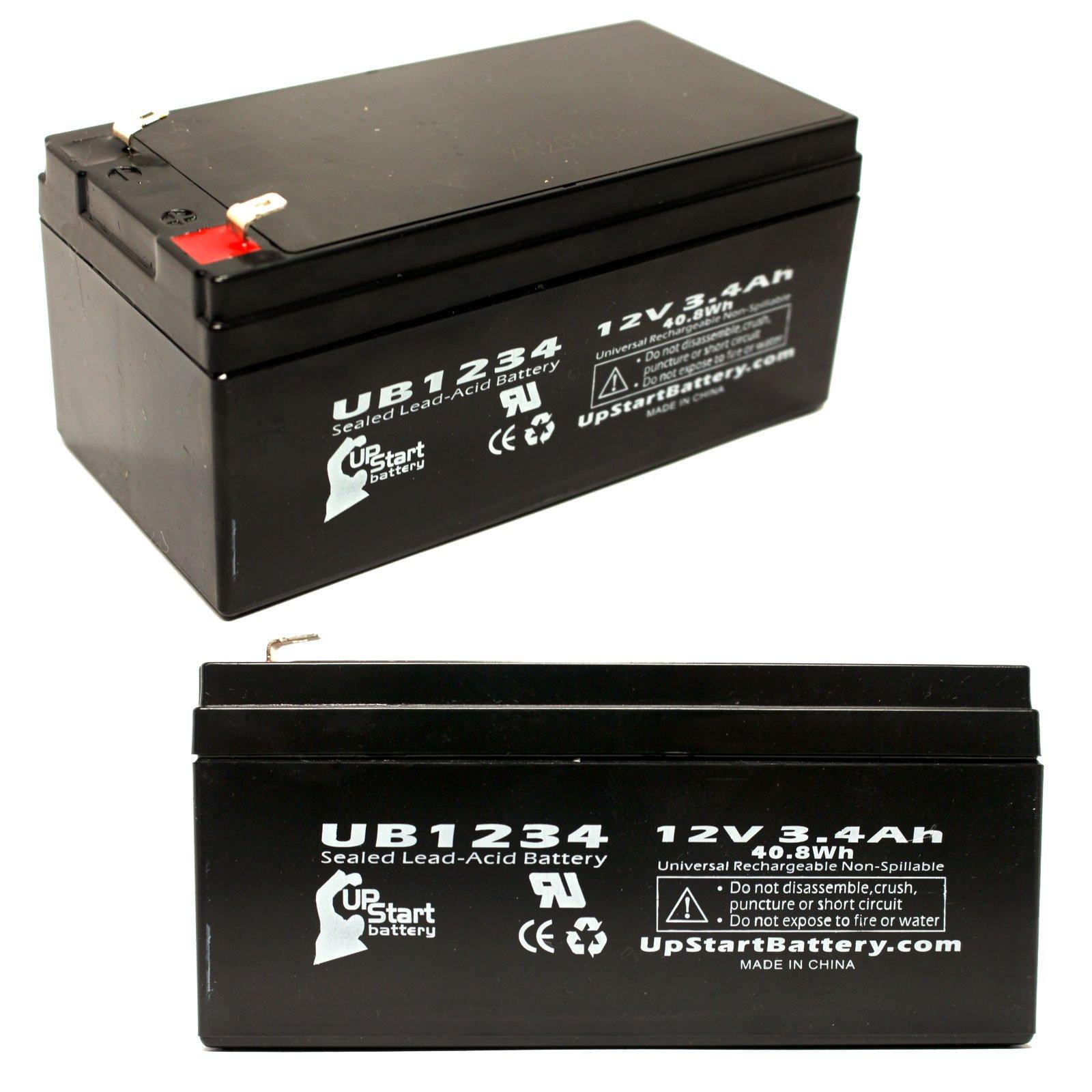 Camera Universal Power UPG-UB1234 Battery 12V 3.4AH