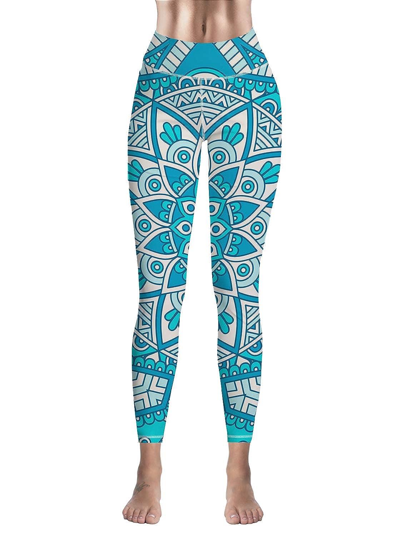 Amazon.com: Savannan Women Leggings High Waist Printed ...