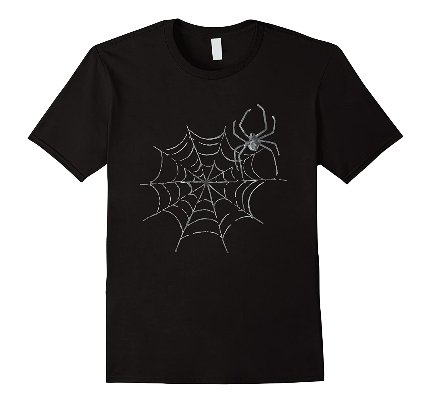 Spider with Web Halloween Alternative Costume T-Shirt-ANZ