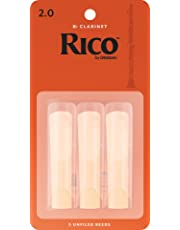 Rico 2.0 Strength Reeds for Bb Clarinet (Pack of 3)