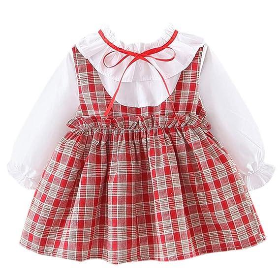 FELZ Vestidos para Niñas Bebes Ropa Bebe Niña Recien Nacido Vestido ...