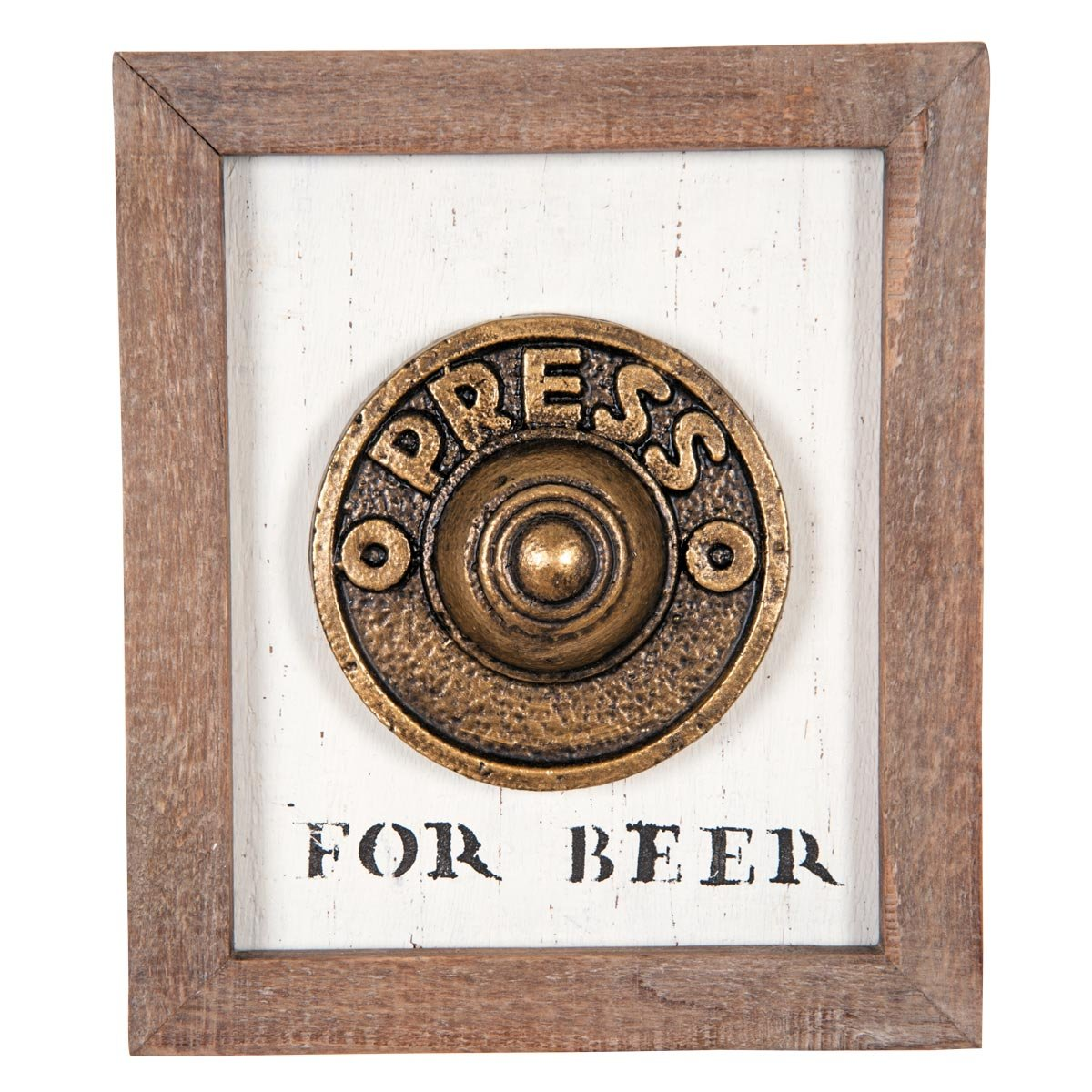 Amazon.com: Foreside Home & Garden Foreside Press for Beer Wall Art ...