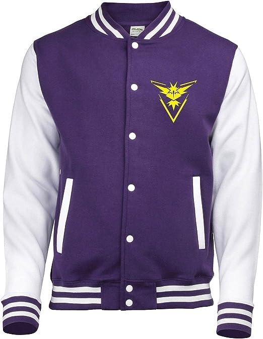 Reality Glitch Kids Team Instinct Varsity Jacket
