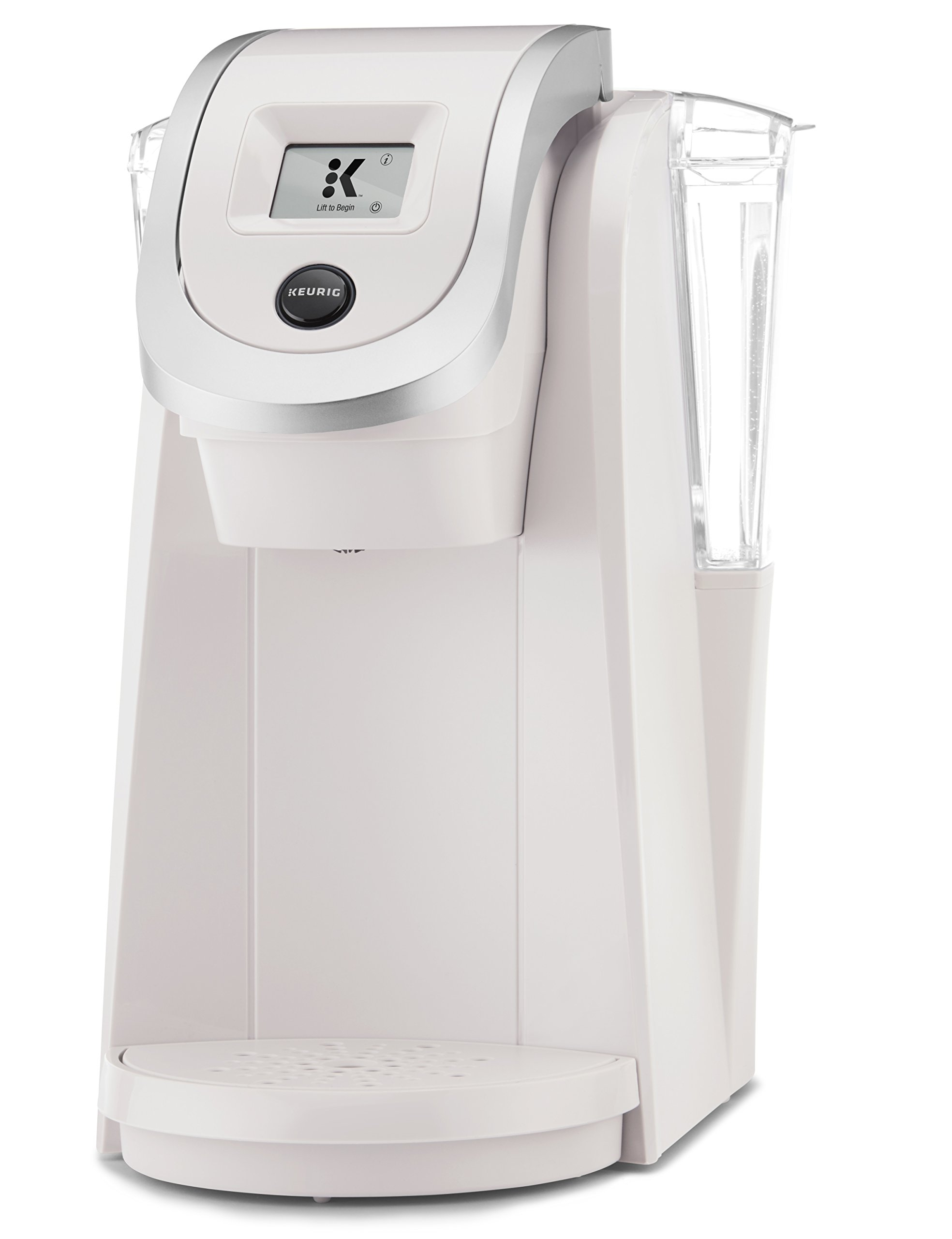 Keurig K250 Single Serve, Programmable K-Cup Pod Coffee Maker with strength control, Sandy Pearl by Keurig (Image #3)