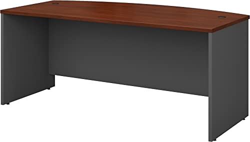 Bush Business Furniture Series C 72W Bowfront Desk Shell