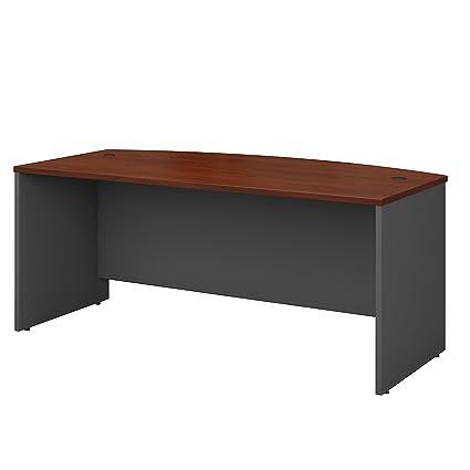 amazon com bush business furniture series c 72w x 36d bow front rh amazon com