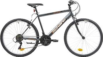 F.lli Schiano Ghost Bicicleta Montaña, Mens, Antracita-Naranja ...