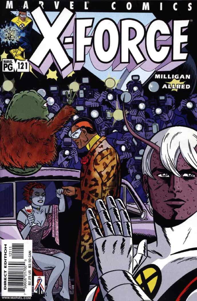 X-Force (1991) #121 pdf epub