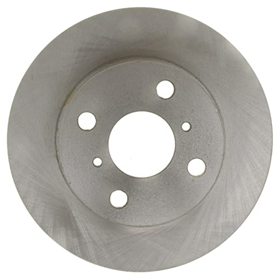 ACDelco 18A2747A Advantage Non-Coated Front Disc Brake Rotor