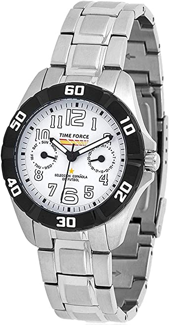 TIME FORCE TF-4131B02M Reloj para Chico, Multifunción, Selección ...