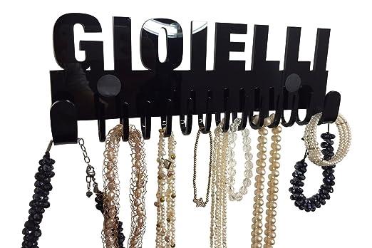 2 opinioni per Espositore collane Galeara design a muro nero