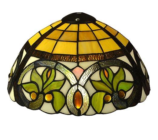 Tiffany Style E-NTA045-U - Pantalla para lámpara de mesa ...