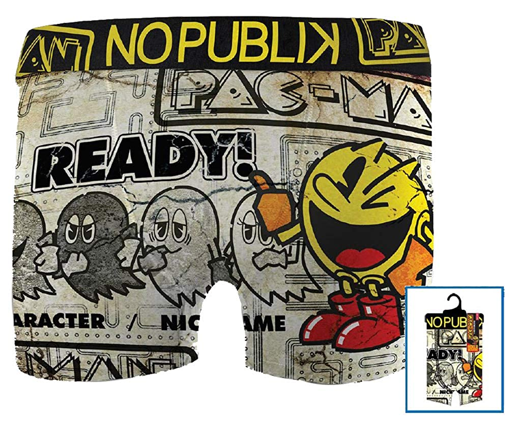 Assortment Models Photos According to Arrivals Boxer Featuring Pacman for Kids Comfort and Fancy No Publik