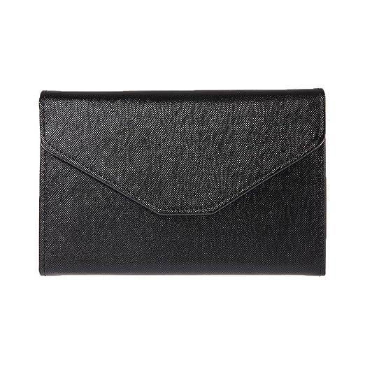 11cb53702b3a Amazon.com: Connoworld - Faux Leather Wallet Travel Envelope Purse ...