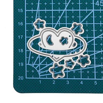 JiaMeng DIY Plantillas de moldes de Corte de Metales del Corazš®n de la Flor Troqueles de Corte de Metal Arte de Papel de Scrapbooking de Bricolaje: ...