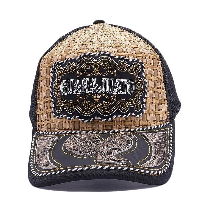 Gorra Charra Guanajuato Western Cowboy Snapback Mesh Hat Cap Mayoreo   MXGU-010   Amazon.ca  Clothing   Accessories 79faee94d38