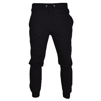 ab7cca1288 Mens Slim Fit Tracksuit Bottoms Skinny Jogging Joggers Sweat Pants Trousers  SML XL 2XL