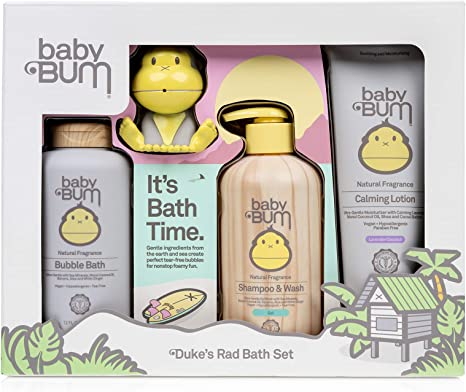 Baby Bum Duke S Bath Gift Set Shower Gel Shampoo And Wash