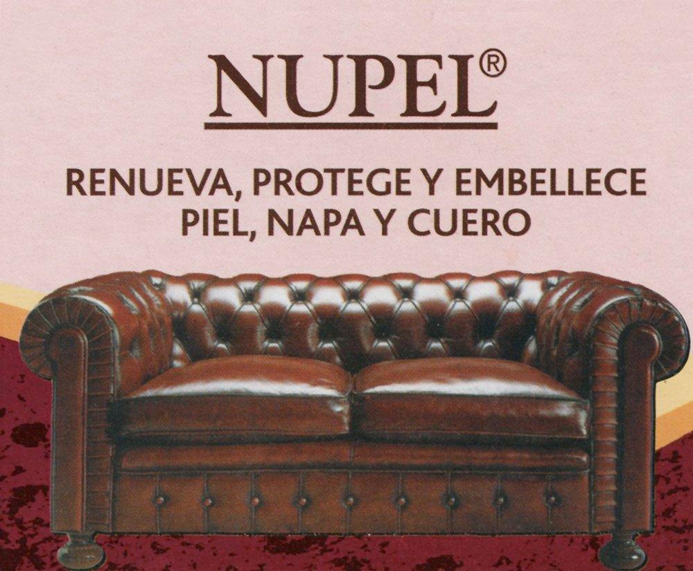 NUPEL Crema Nutritiva Especial Tapizados Piel y Cuero. 170 ML