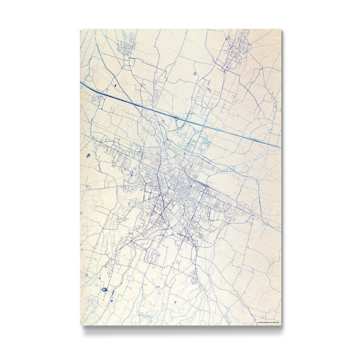 Artboxone Gallery Print 150x100 Cm Reggio Nell Emilia Italy Blue