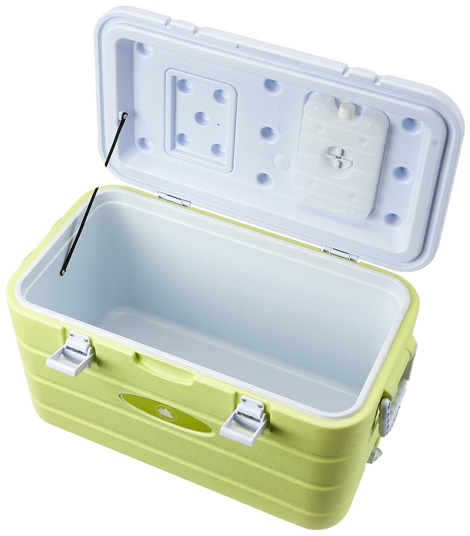 kalt Isolierbox 10T K/ühlbox Fridgo 40L passive Thermobox PU K/ühlbeh/älter warm Deckel-Klappe Gr/ün