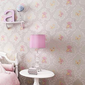 Prinzessin Schlafzimmer   Vliestapete Cartoon Bear Warm Kinder Madchen Prinzessin Schlafzimmer