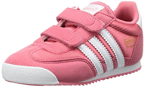 adidas Dragon CF I G95083 Baby, Scarpe primi passi bambina, Rosa (Pink (