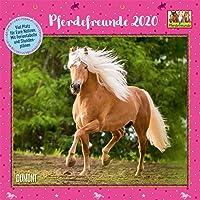 Pferdefreunde 2020 - Broschürenkalender - Kinder-Kalender - Format 30 x 30 cm
