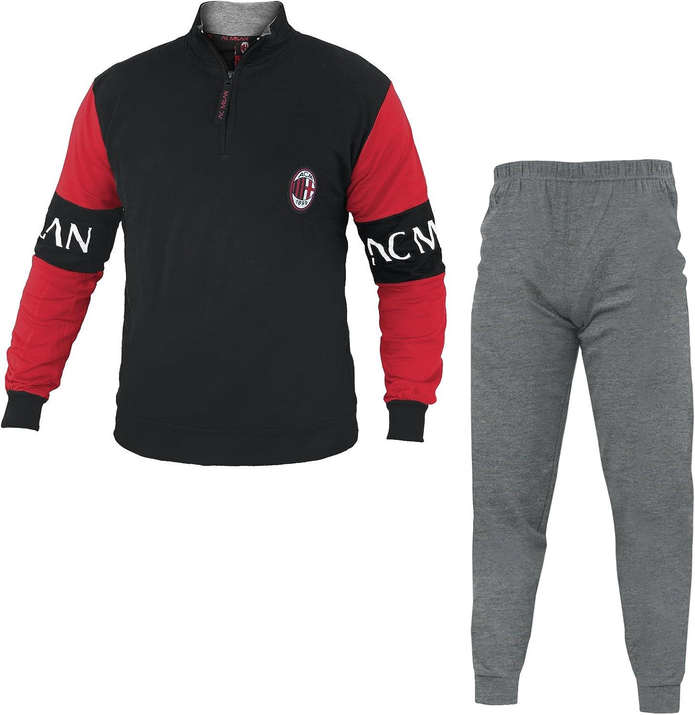 Pigiama Milan Felpato Abbigliamento AC Milan PS 25664 Pigiami ...