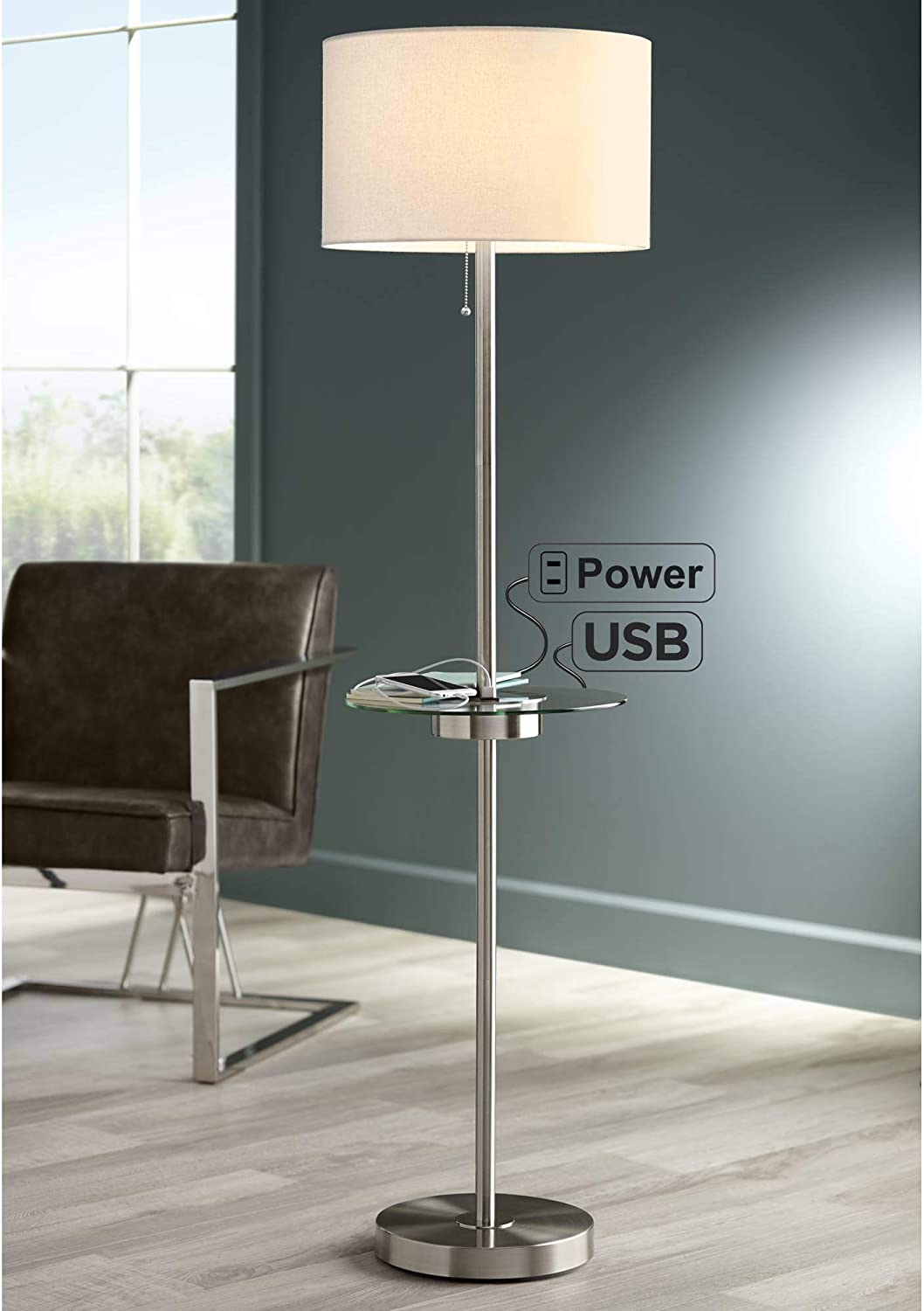 Table With Floor Lamp Details @house2homegoods.net