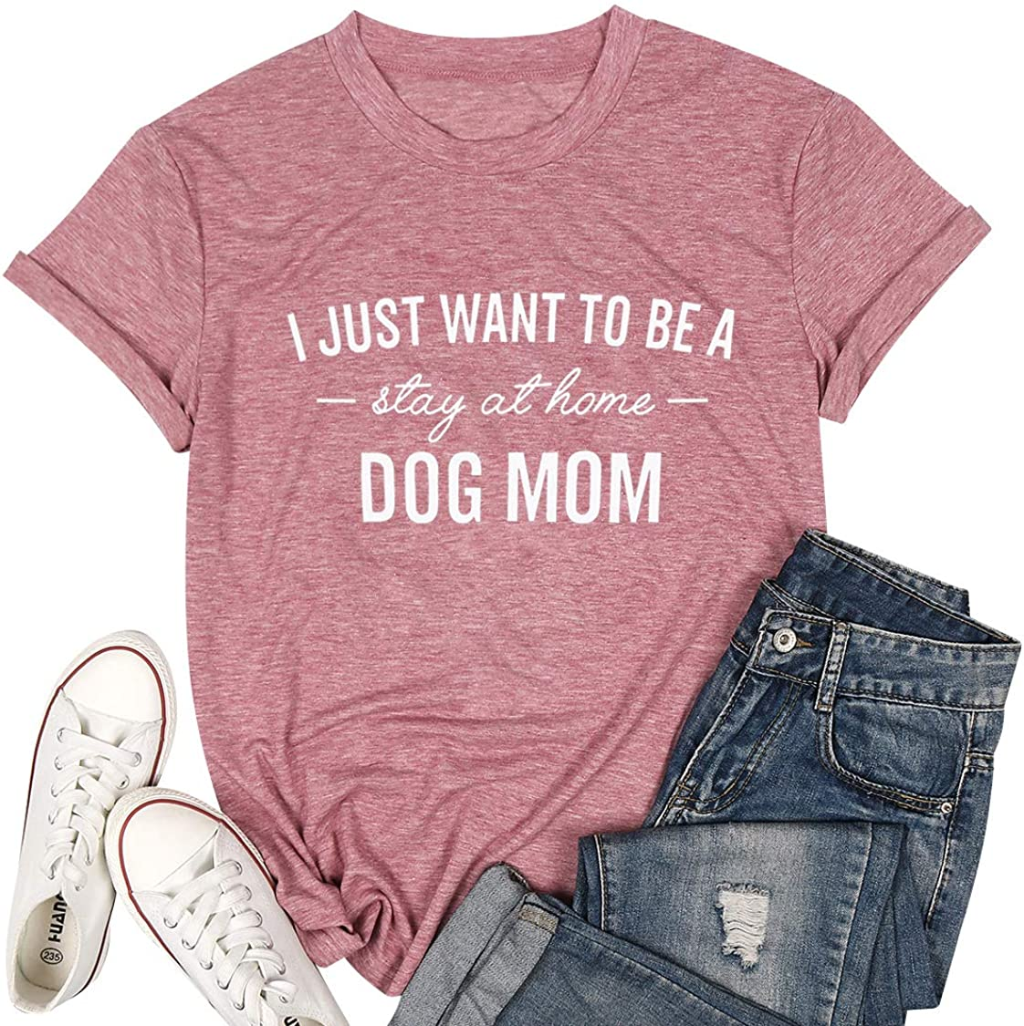 Top 8 Longsleeve Womens Stay At Home Dog Mom