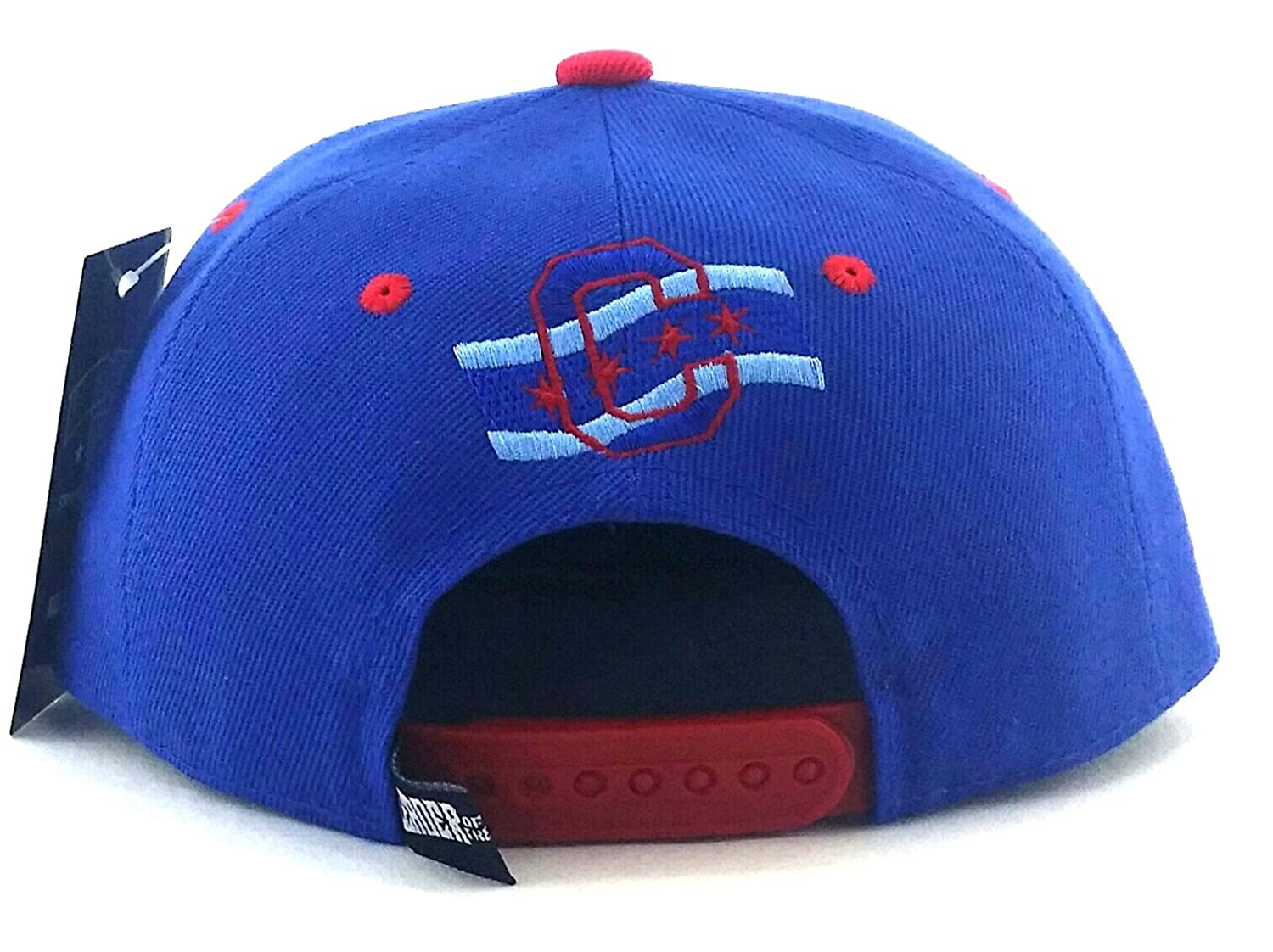6819e1a3095 City of Chicago New Youth Kids 3 Flag Cubs Colors Blue Red Era Snapback Hat  Cap  Amazon.co.uk  Sports   Outdoors