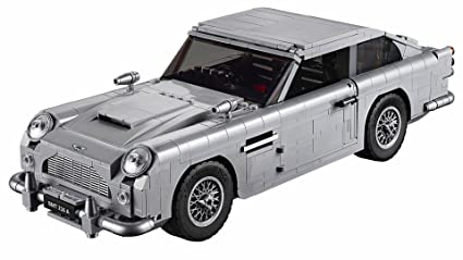 Amazon Com Aston Martin Db5 Building Blocks Kit Compatible With