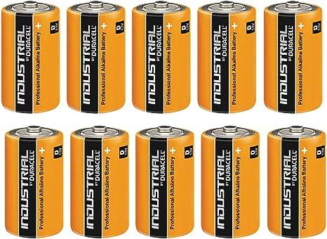 Duracell Industrial batería D mn1300 10pk