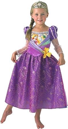 Rubies Disfraz Oficial de Princesa Disney para niños de Rapunzel ...
