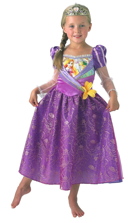 Rubies s Disney Princess - Rapunzel disfraz de - grande para los niños: Amazon.es: Juguetes y juegos
