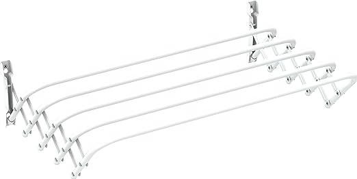 121 opinioni per Gimi Brio Super 60 Stendibiancheria da Parete in Acciaio, 3 m Stendibili