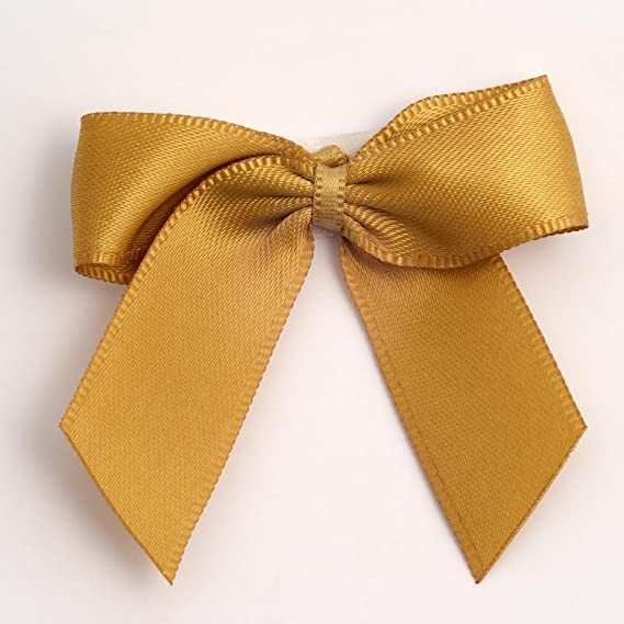 Italian Options Satin-Schleifen /12/Pack/ 5/cm/ /Antik Gold selbstklebend