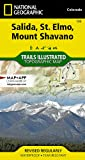Salida, St. Elmo, Mount Shavano (National Geographic Trails Illustrated Map (130))